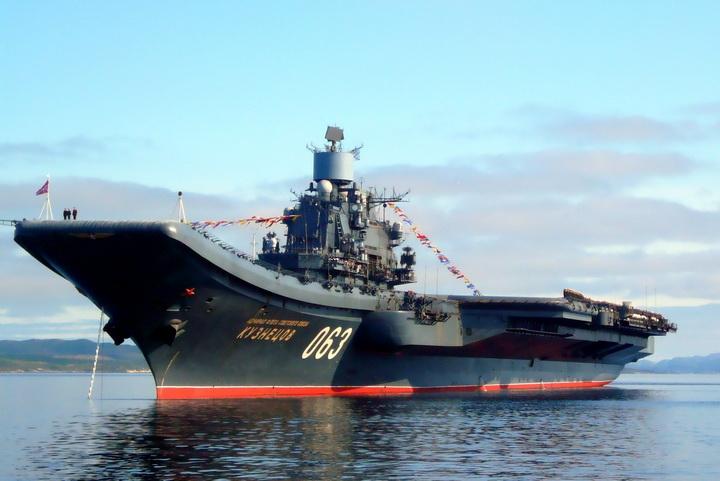 Admiral Kuznetsov 334