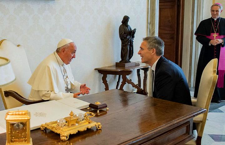 NATO Secretary General visits the Vatican