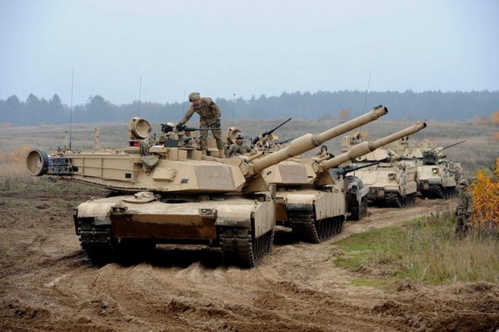 US tanks 234545