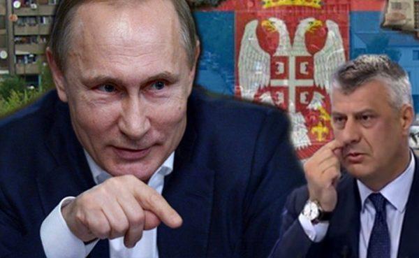 RUSIJA ODGOVORILA NA Tačijev zahtev da prizna tzv. Kosovo!