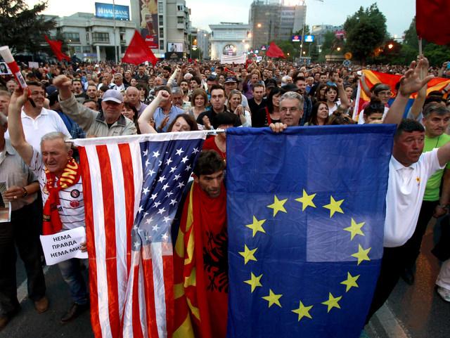 Macedonia Political Crisis