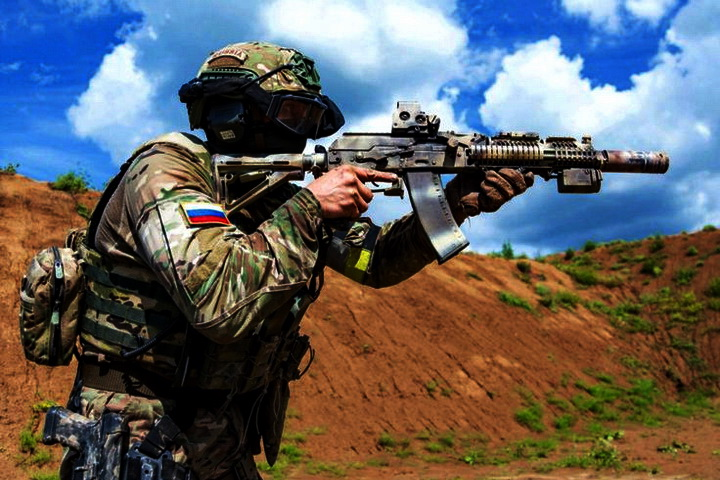 Russian Special forces sso 4t 4tr
