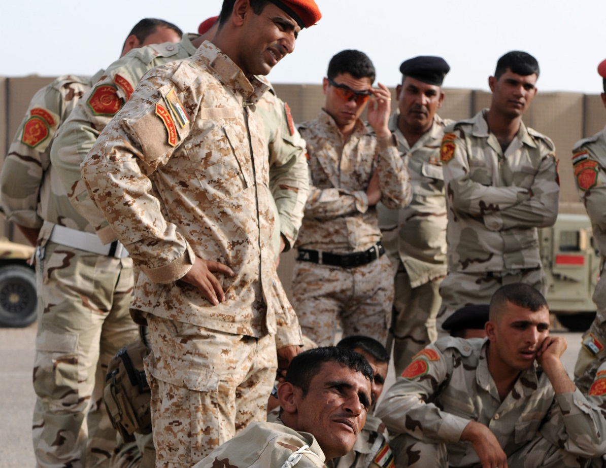 MPs train Iraqis on convoy operations, IED detection