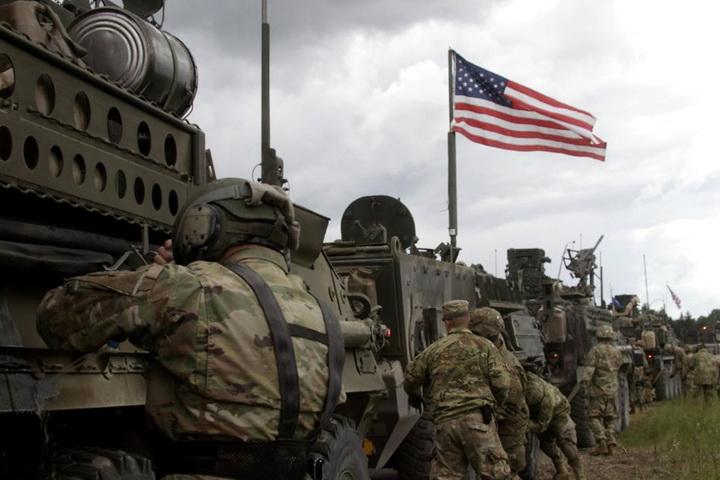 LATVIA USA MILITARY CONVOY