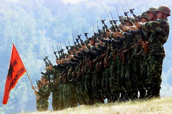 TERORISTI OVK spremaju na Kosovu velelepni doček za vojnike iz Albanije – neka se pripreme Hrvati
