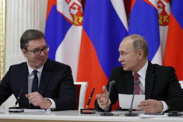 """VUČIĆ OTKRIO ŠTA MU JE PREDSEDNIK RUSIJE REKAO: """"Putin mi je rekao: Aleksandre, ne radi to!"""""""