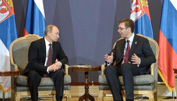 VUČIĆ OČEKUJE velike stvari od sastanka sa Putinom