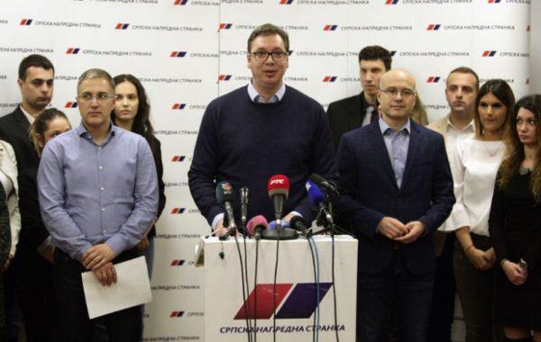 VUČIĆ I NAPREDNJACI objavili sa kim će od opozicionara pregovarati!