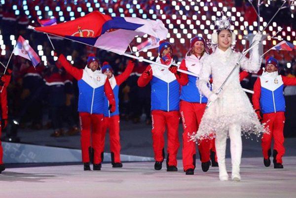 ISTINSKA BRAĆA: Boje ruske zastave na srpskim sportistima zapalile internet! RUSI: Hvala, braćo Srbi!