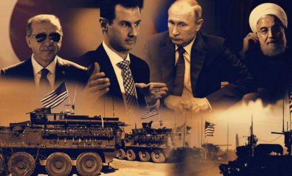 ТРОУГАО МОЋИ: Ко држи кључ решења у Сирији