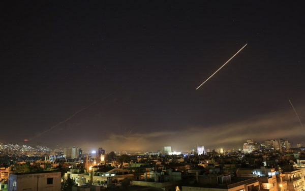 SIRIJA odbila raketni napad IZRAELA