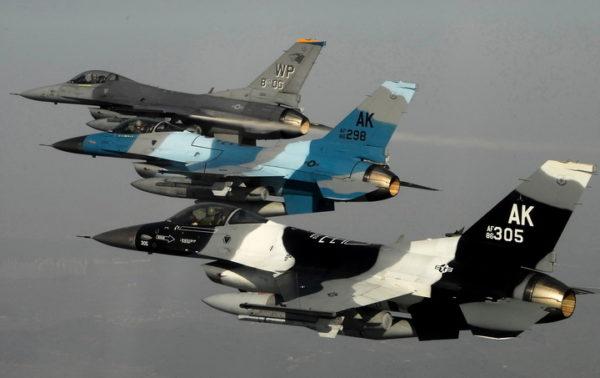 AMERIČKI AVIONI BLIZU GRANICE SA SRBIJOM: Šta to sejač smrti F-16 radi iznad Slavonije!? (VIDEO)