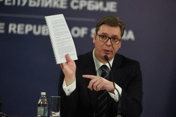 """VUČIĆ SE """"IZLETEO"""" I RASKRINKAO Briselski sporazum!"""
