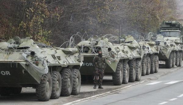 УДАРНА ВЕСТ – Колона КФОР-ових возила ушла на север Косова! ШТА СЕ ТО СПРЕМА?