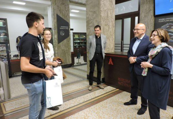 NARODNI MUZEJ OBORIO REKORD: Student građevine iz Novog Sada stohiljaditi posetilac