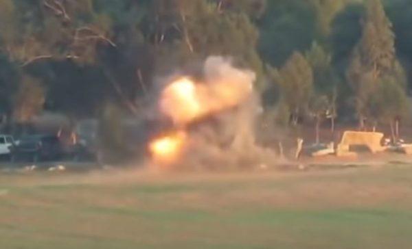 OBJAVLJEN SNIMAK KOJI JE ZAPALIO BLISKI ISTOK: Palestinska raketa pogađa izraelski autobus! SLEDI PAKAO