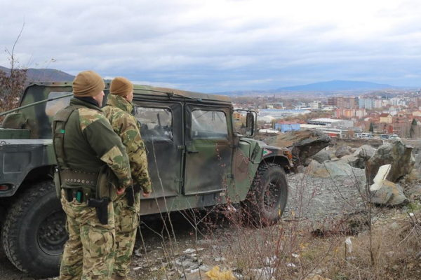 OGLASIO SE I KFOR posle upada na sever Kosova