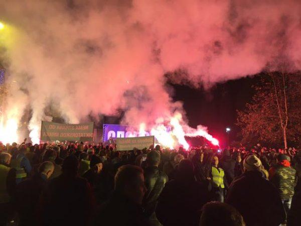 PROTESTI U CRNOJ GORI: Demokratski front započinje u sredu proteste u svim gradovima Crne Gore