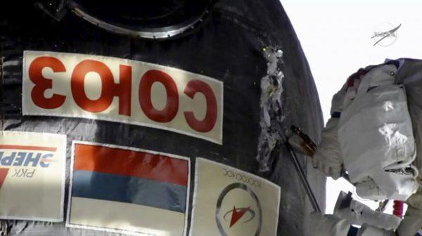 """ODGONETNUTA ENIGMA: Ko je probušio svemirsku stanicu """"Sojuz"""" iz koje je curio vazduh?"""