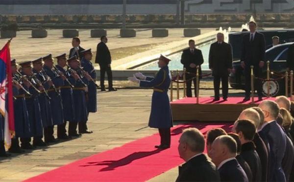 PUTIN i VUČIĆ stiglu u PALATU SRBIJA! POČINJE SASTANAK! (VIDEO)