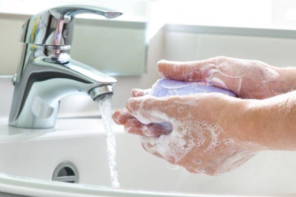 Pranje ruku nakon toaleta