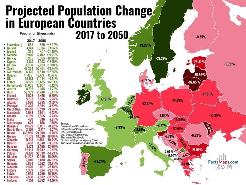 Mapa Srpske Smrti Izgubiћemo Milione љudi Nova Karta Otkriva