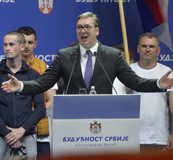 VUČIĆ NA SKUPU PORUČIO: Naša zemlja je vojno neutralna, na evropskom putu i želi najbolje odnose sa Rusijom