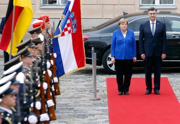 BALKAN U ČUDU: Hrvatska dočekala Angelu Merkel kao što je dočekala i HITLERA