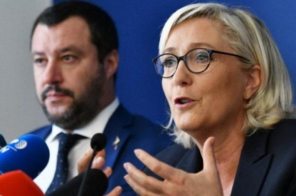 UZBUNA U EVROPI: Evropom će vladati Salvini i Marin Le Pen