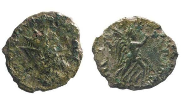 U Engleskoj pronađen redak rimski novčić