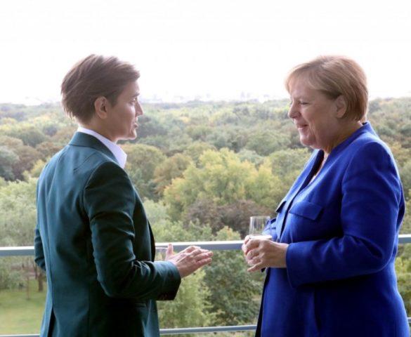 """БРНАБИЋКА ИСКРЕНА ПОСЛЕ САСТАНКА СА МЕРКЕЛОВОМ: """"Нећемо се сложити око Косова"""""""