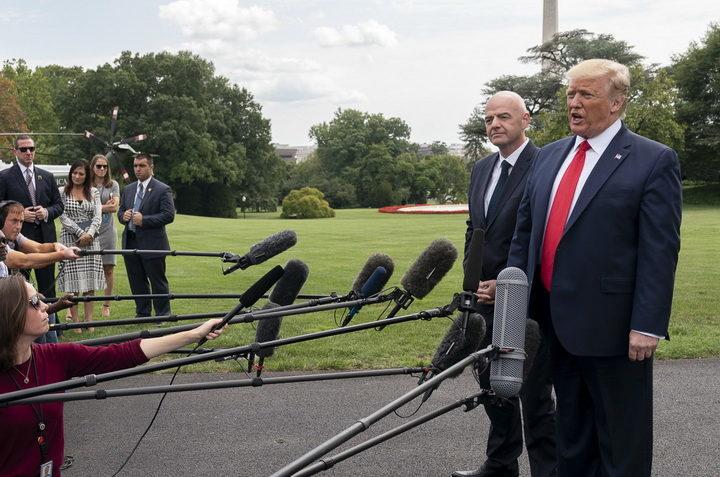 TRAMP OPLEO: U SAD nema slobode štampe – mediji su korumpirani