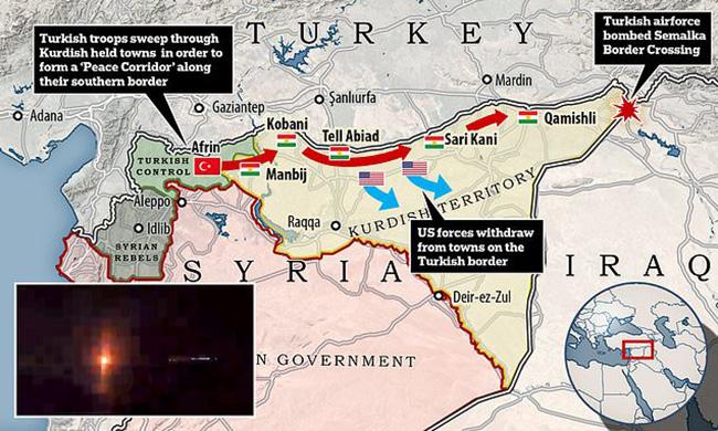 Курди без борбе препуштају градове Манбиџ и Кобани армији Сирије