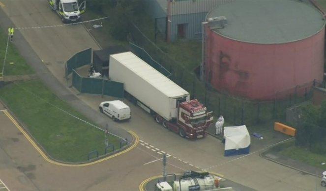 UŽAS U ENGLESKOJ: Pronađeno 39 tela u kamionu iz Bugarske! (FOTO/VIDEO)