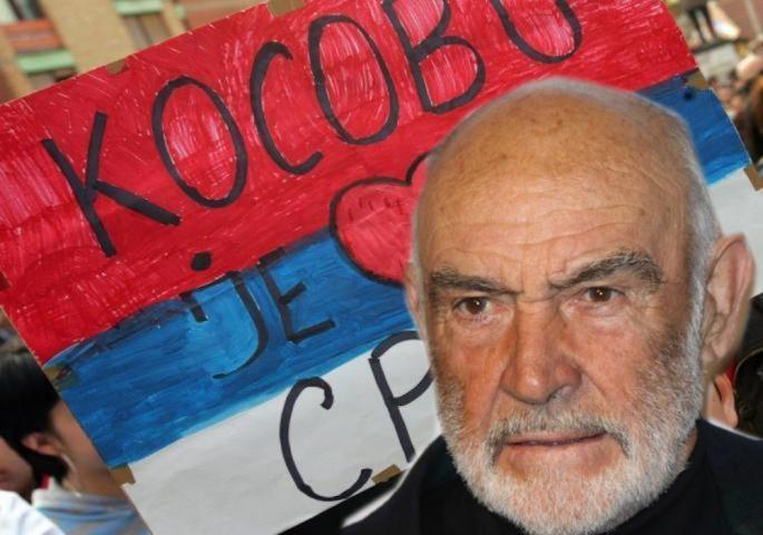 """SLAVNOM GLUMCU ŠON KONERIJU PRETE ZBOG STAVA: """"Kosovo je Srbija – to je logika"""""""