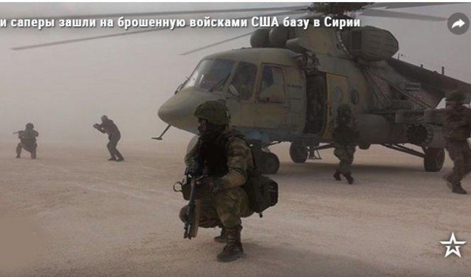 RUSI HELIKOPTERSKIM DESANTOM ZAUZELI AMARIČKU BAZU I AERODROM U SIRIJI! (VIDEO)