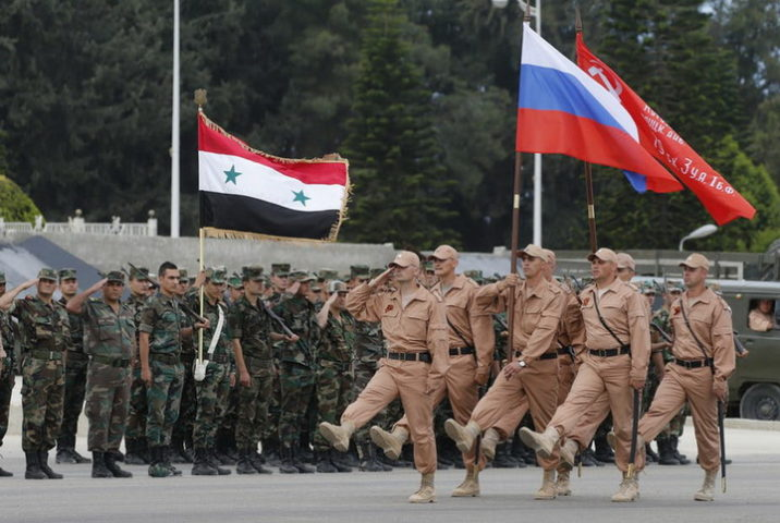 РУСИЈА ГРАДИ НОВУ БАЗУ У СИРИЈИ