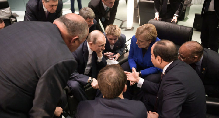 IPAK JE POSTIGNUT DOGOVOR O LIBIJI: Putin u centru pažnje! EVO ŠTA JE DOGOVORENO