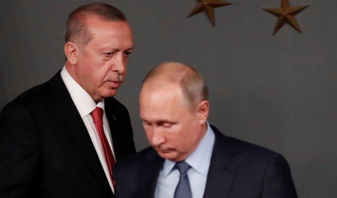 ERDOGAN POBESNEO, OVAKVE REČI PUTINU NIKO JOŠ NIJE UPUTIO! Teška poruka Rusiji zbog Sirije!