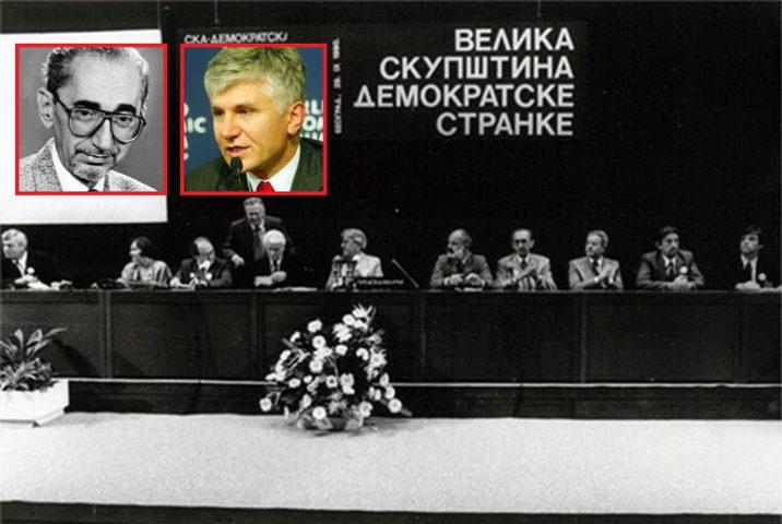 OSNIVAČ DEMOKRATSKE STRANKE OTKRIVA: Evo šta je Đinđić rekao Borislavu Pekiću i šokirao ga!
