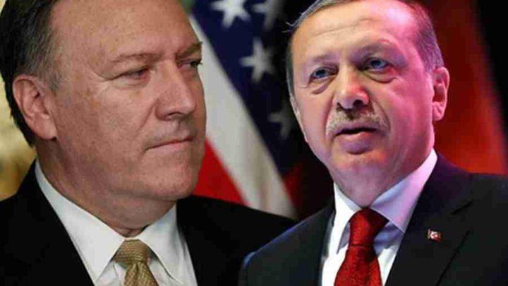 НИШТА ОД МИРА! Ердоган и Помпео напустили конференцију! МЕРКЕЛОВА СЕ ХИТНО ОБРАТИЛА ЈАВНОСТИ