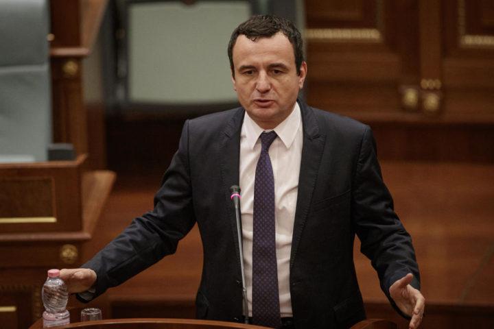 KURTI UKIDA TAKSE! Sazvao vanrednu konferenciju, Albanci na KOLENIMA