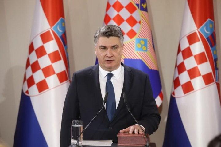 NOVI HRVATSKI PREDSEDNIK u govoru koristio stihove poznatog beogradskog benda i poslao poruku Srbiji