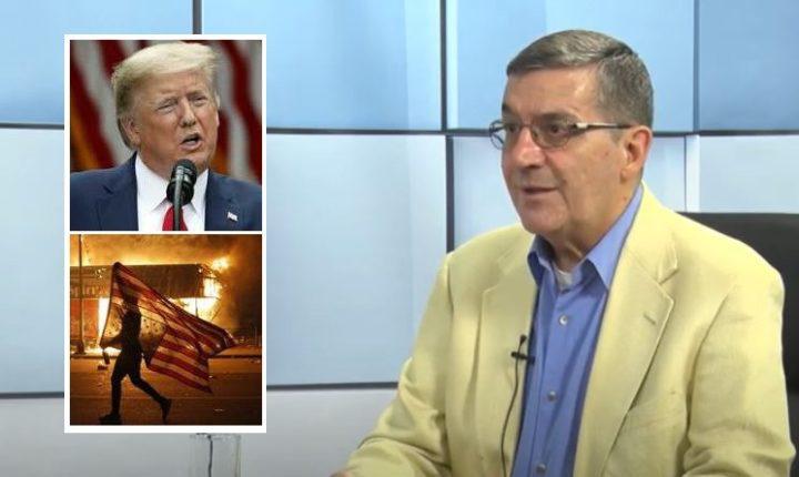 Prof. dr SRĐA TRIFKOVIĆ OTKRIVA: Ovo je pravi razlog protesta u Americi! EVO KAKAV ĆE ISHOD BITI… (VIDEO)