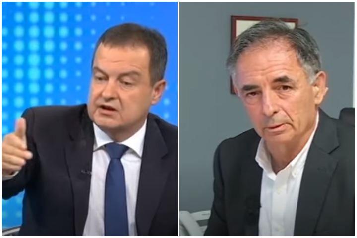 ŽESTOK SUKOB NA RTS-u Dačića i Pupovca (VIDEO)