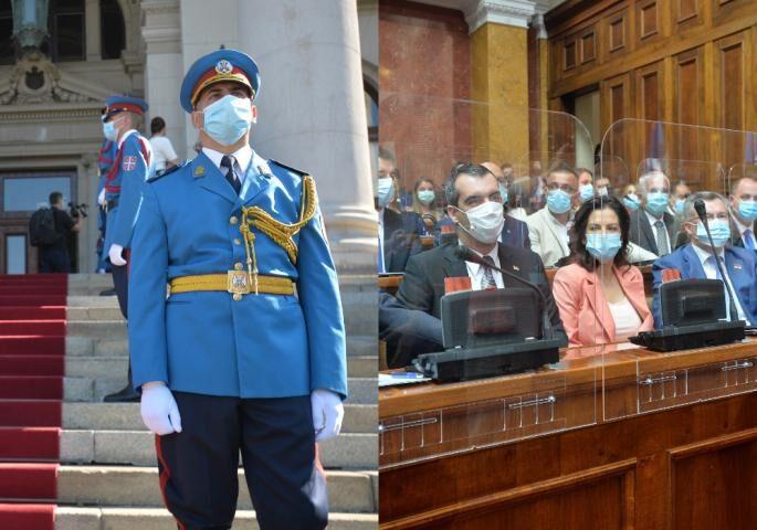 Poslanici položili zakletvu, konstituisana Skupština