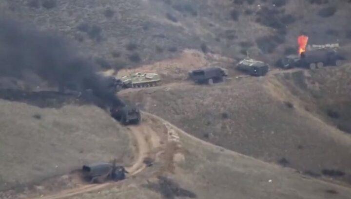 STRAVIČNI GUBICI AZERBEJDŽANACA: Iz stroja izbačeno gotovo 3.000 vojnika, uništen 181 tenk i oklopni transporter