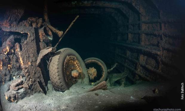 """POLJSKA: Otkriven nacistički brod """"Karlsrue"""", da li je misterija Ćilibarske sobe rešena?"""