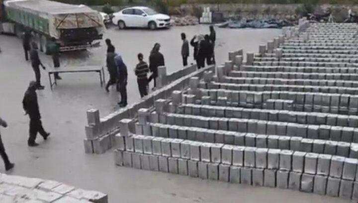 TURSKI OKUPATOR RAZVIJA BIZNIS: Pojavio se snimak koji dokazuje novu pljačku Sirije (VIDEO)