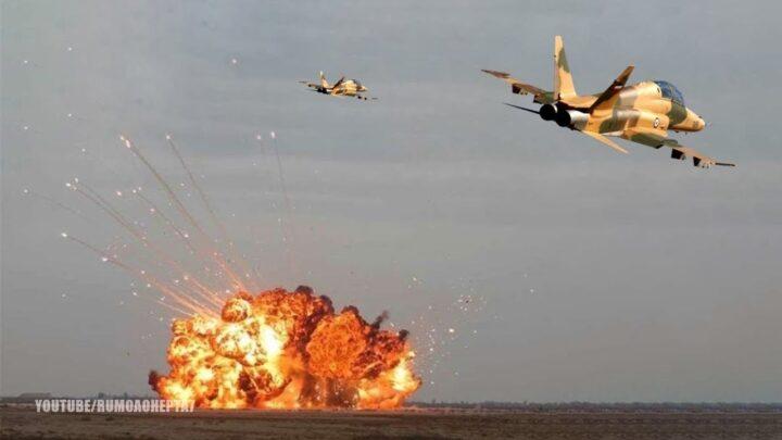 ОБЈАВЉЕН ДОСАД НЕВИЂЕН СНИМАК ОДМАЗДЕ: Ево како Иранци бомбардују америчку базу (ВИДЕО)